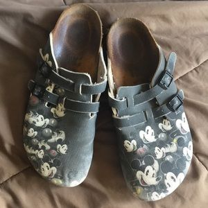 Birkenstock Mickey Mouse Shoes Size 10